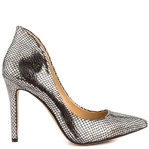 Jessica Simpson - Claudette - Silver pump - 9M